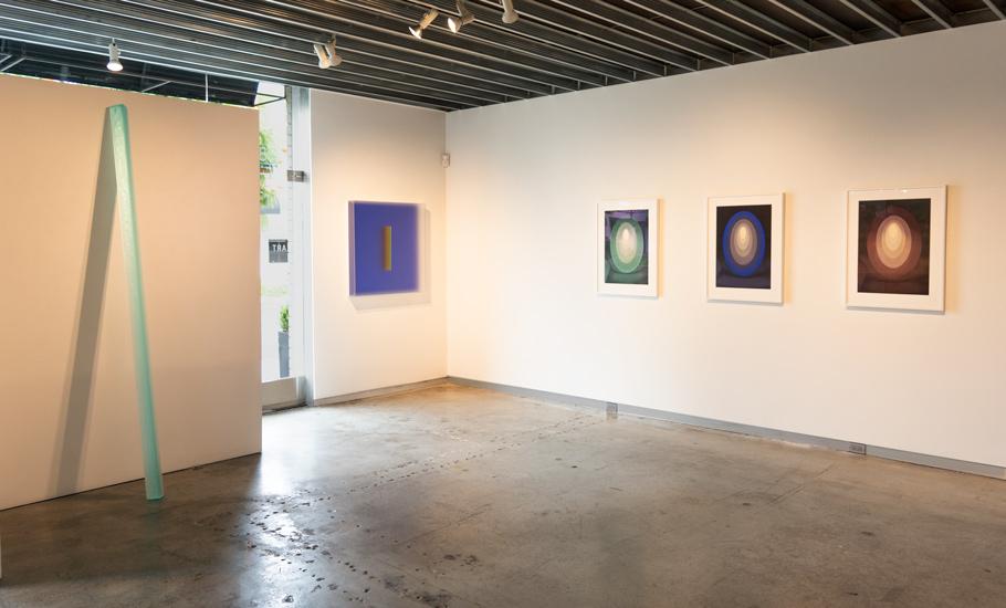 Holding Light Exhibition Installation Image